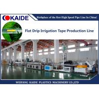 Quality Inline Flat PC Type Drip Irrigation Pipe Production Line High Speed 80m/min wholesale