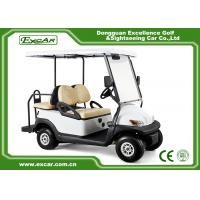Quality KDS Motor Used Electric Golf Carts 4 Seater 48V Trojan Batteries Powered wholesale