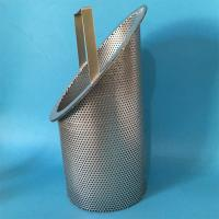 Quality 304 316L Stainless Steel Mesh Filter Baskets With Excellent Corrosion Resistance wholesale