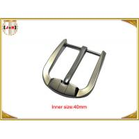 Quality Custom Silver Plated Zinc Alloy Belt Buckle Environmentally Friendly wholesale