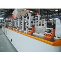 Buy cheap High speed ms pipe making machinery Fully automation high precision ERW tube from wholesalers