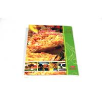 Quality 200gsm C2S Paper Cook Book Saddle Stitch Printing with CMYK And Matt Lamination wholesale
