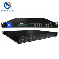 Buy cheap Digital TV Headend 8/ 12/ 16/ 20/ 24 Channels HD H.264 Encoder COL5011F from wholesalers
