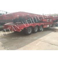 Quality Heavy duty 3 axles 70tons capacity extendable low bed semi trailer ,Warranty Coverage 12 month lowbedtraier wholesale