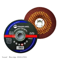 """Quality 80m/S Metal Steel 4"""" 100 X 6 X 16mm Abrasive Grinding Wheel For Angle Grinder wholesale"""