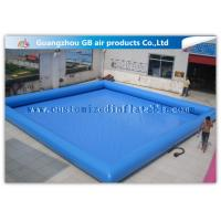 China Summer Party Inflatable Family Swimming Pool, Large Portable Swimming Pool For Rent on sale