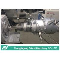 China Low Density LLDPE Pipe Extrusion Equipment , Plastic Tube Extrusion Machines on sale