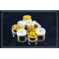 Quality gold anodized tear off Flip Off Caps for cosmetics , D13.5mm×H6.5mm wholesale