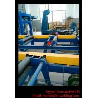 Cheap Automatic H Beam Assembly Machine With Two Sets Of Co2 Tack Welding 2000mm Web for sale