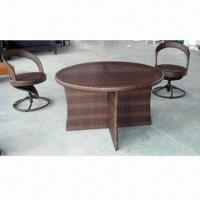 Quality Outdoor/Garden Wicker/Rattan Furniture Set, Two Years Guarantee, Includes Two Big Chairs wholesale