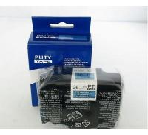 China TZ Tapes 36mm Black on Blue label tape PT-S561 printer ribbons on sale