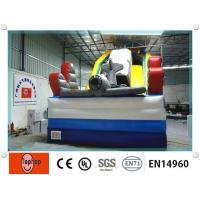 Quality OEM Big Commercial Inflatable Slip / Combos Rental for family fun wholesale