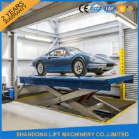 Buy cheap Hot Dip Galvanizing Hydraulic Car Lifts High Strength Manganese Steel Material from wholesalers