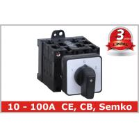 Quality Electrical 5 Position Selector Switch Push Button , Industrial Rotary Disconnect Switch wholesale