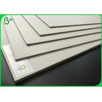 Quality High Density 700 x 1000mm Laminated Grey Board 1.35mm 1.5mm 2.0mm Grey Chipboard For Packaging wholesale