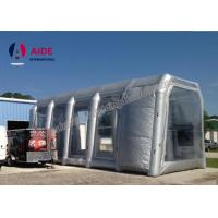 Quality White Microwave Inflatable Paint Booth For Auto Paint Dryer , CE Approved wholesale