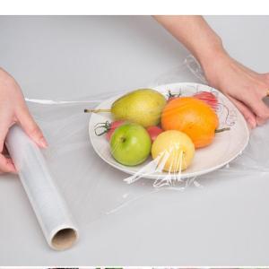 Quality Cast Stretch Wrap Film Moisture Proof Food Stretch Wrap Rolls 9 Micron Price wholesale