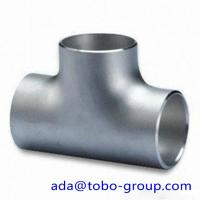 Quality 316 & 316L Stainless Steel Tee / Butt welding fittings 1/2 - 72 inch wholesale