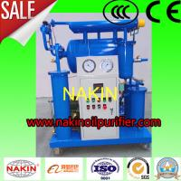 Quality High Efficiency  Transformer Oil Purifier , Single Stage Insulating Oil Filtration Machine wholesale