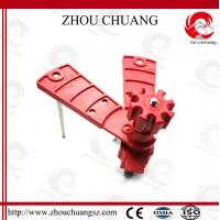 Quality CE certificated Universal butterfly valve lockout circuit breaker lock wholesale