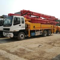 Quality Hot Sale Uesd Putzmeister 38 42M Truck Mounted Concrete Pump Truck  for sale wholesale