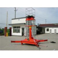 Quality Warehouse Hydraulic Industrial Vertical Lift , Electric Lift Platform 0.8 * 0.8m wholesale