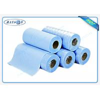 Quality Light Blue Disposable Bed sheet PP Nonwoven Massage Bedsheet Roll for Hospital wholesale