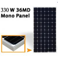 Quality 43.2V Mono Silicon Solar Panels 330W , Solar Pv Module High Transmission Glass wholesale