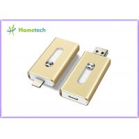 China Aluminum Alloy Compact 8GB USB Disk iflash Drive Mobile Phone OTG For PC on sale