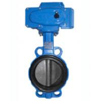 Quality Electric Wafer Centerline Butterfly Valves , Ductile Iron Butterfly Valve wholesale
