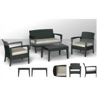 China Mtc-046 Patio Furniture Outdoor Rattan Chair and Tea Table on sale