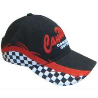 Quality 58cm, baseball cap , 6 eyelets, with logos display and 100% cotton custom hat embroidery wholesale