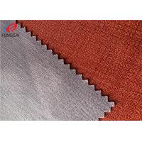 China 100% Polyester TPU Coated Fabric Woven Bonded For Cloth , Tear Resistant on sale