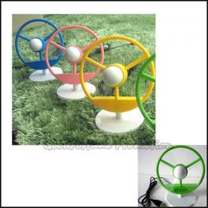 Quality Customed Cheap promotional Eco ABS Tone Shape desk usb flower mini fan printed logo gift wholesale