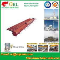 Quality Longitudinal Oil Fired Boiler Header Manifold Once Through For Power Plant wholesale