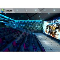 Quality Lifelike Experience 4D Theater Seats Suitable For Hollywood Movies wholesale