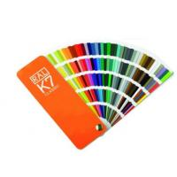 Quality Ral color card number Ral k7 classic color chart Ral k7 colour chart ral k7 ral colour chart international metal card wholesale