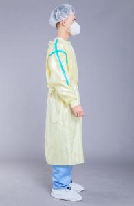China 50g Washable Surgical Skin Friendly Reusable Isolation Gown on sale