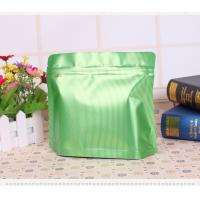 China Clear Front Paper Plastic Packaging Bags With Zip Lock And Hang Hole on sale