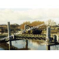 China Modern Designed Military Style Temporary Military Steel Structure Bailey Bridge For Army Usage on sale
