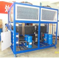 Quality Stainless Steel Industrial Air Chillers With 10HP To 100 HP wholesale