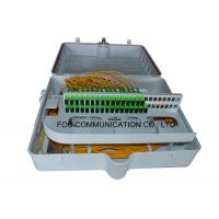 Quality ABS PLC Splitter Fiber Termination Box 48 Core With Pre-Installed Fiber Splitters wholesale