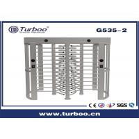 Quality Outdoor Full Height Access Control single lane and dual lane Turnstile Gate With A Direction Indicator wholesale
