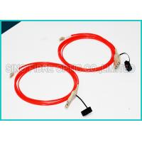 Quality 3.0Mm Fiber Optic OM2 Multimode Cable Assembly FDDI to FDDI Connector wholesale
