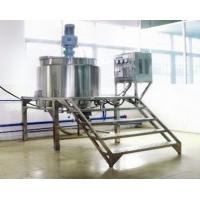 Quality 200L - 5000L Stainless Steel Shampoo Cosmetic Making Machine Liquid Mixing Equipment wholesale