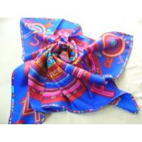 China Printed Silk Scarves on sale