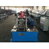 Buy cheap High Speed Steel Stud Roll Forming Machine by Gear Box Cassette Type , Manual Decoiler product