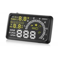 China W02 HUD Driver Heads Up Display , 5.5 Inch White Yellow Auto Heads Up Display on sale