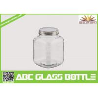 Quality Square clear 1 gallon glass jar wholesale
