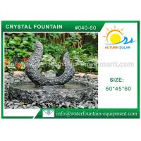 Quality Rolling Granite Ball Fountain , Stone Sculpture Outdoor Garden Fountains wholesale